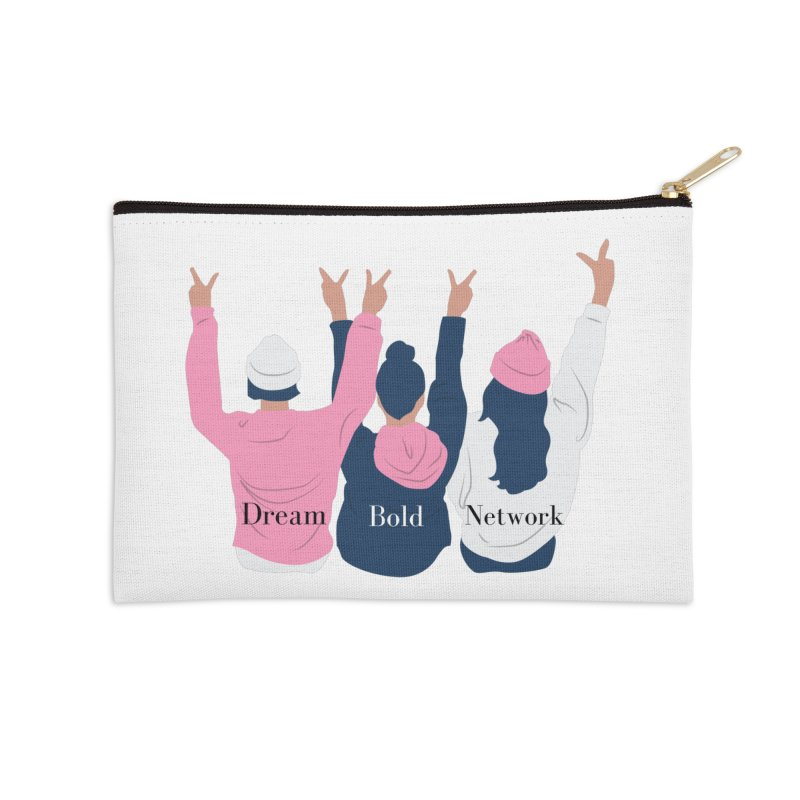 Dream Bold Ladies Accessories Zip Pouch by Dream BOLD Network Shop