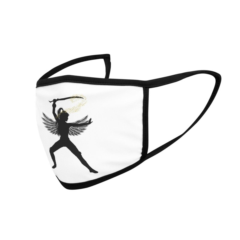 Female Warrior Accessories Face Mask by Dream BOLD Network Shop