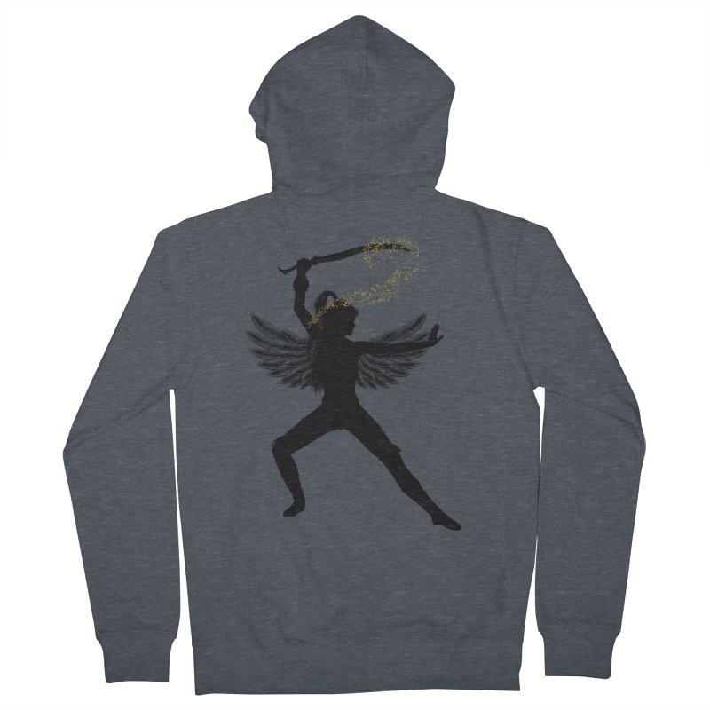 Female Warrior Women's Zip-Up Hoody by Dream BOLD Network Shop