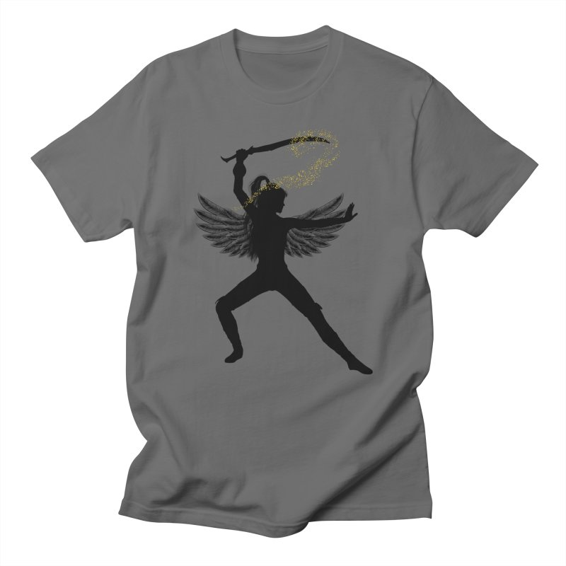 Female Warrior Men's T-Shirt by Dream BOLD Network Shop