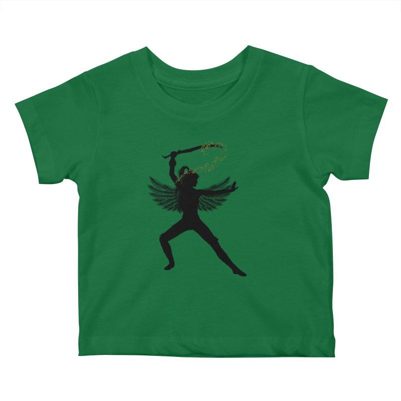 Female Warrior Kids Baby T-Shirt by Dream BOLD Network Shop