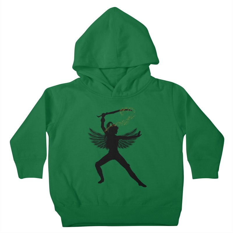Female Warrior Kids Toddler Pullover Hoody by Dream BOLD Network Shop
