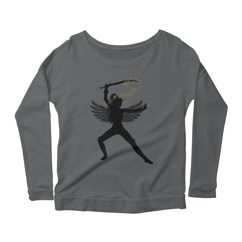 Female Warrior Women's Longsleeve T-Shirt by Dream BOLD Network Shop