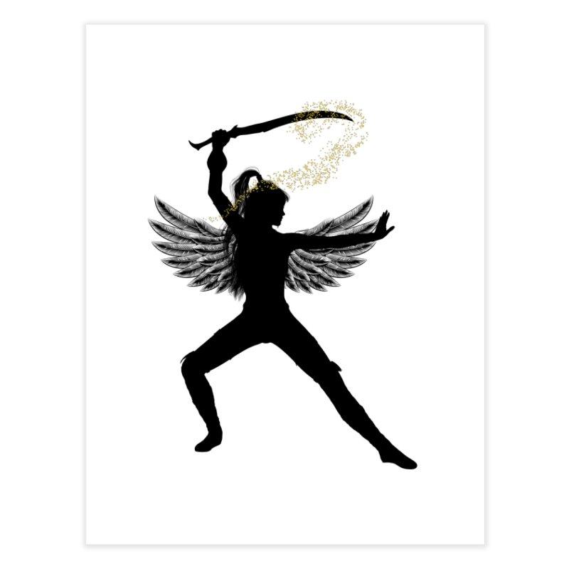 Female Warrior Home Fine Art Print by Dream BOLD Network Shop