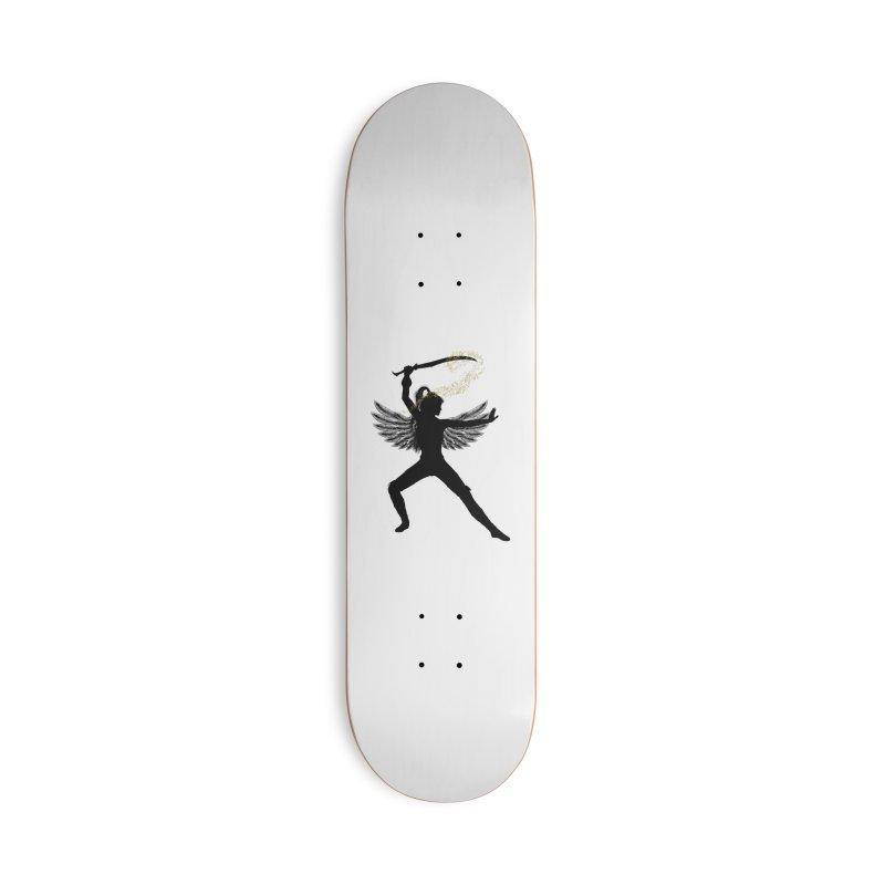 Female Warrior Accessories Skateboard by Dream BOLD Network Shop