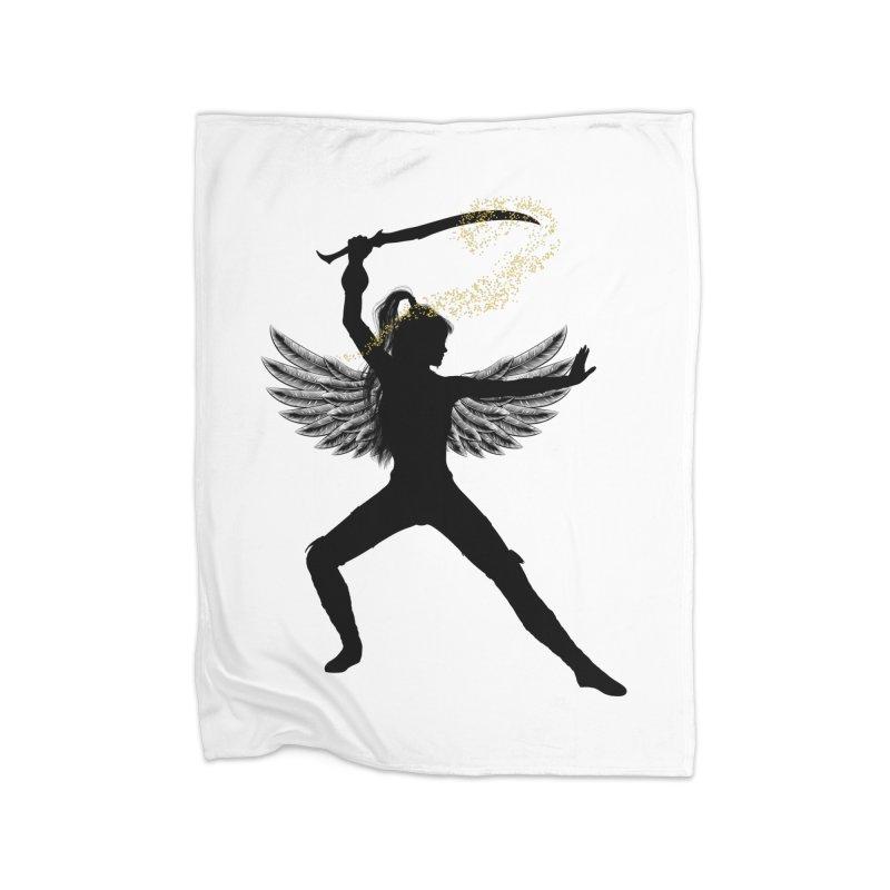 Female Warrior Home Blanket by Dream BOLD Network Shop
