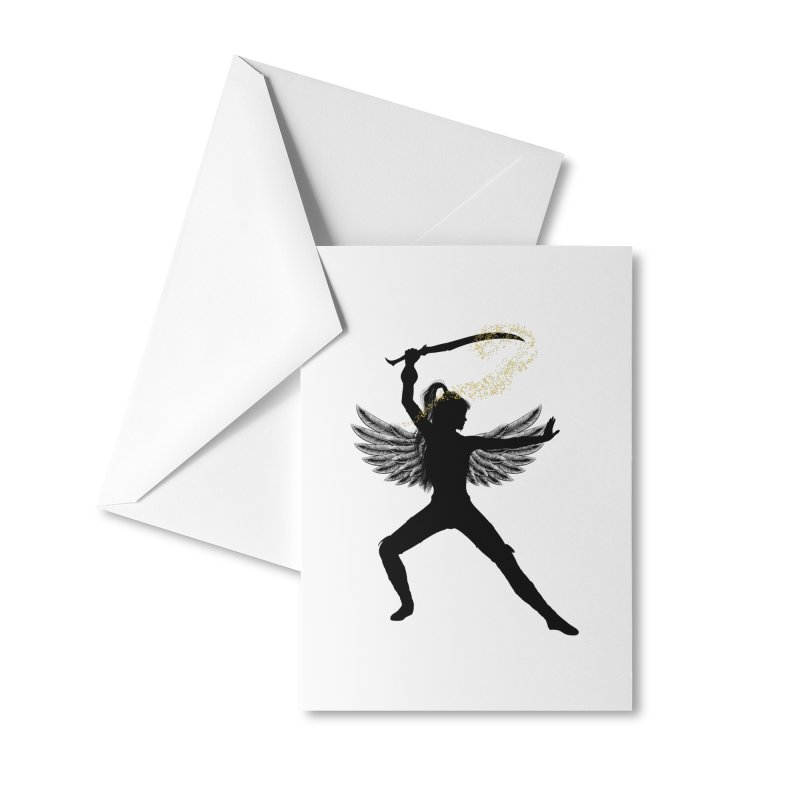 Female Warrior Accessories Greeting Card by Dream BOLD Network Shop