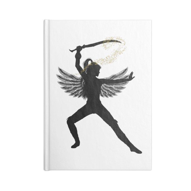 Female Warrior Accessories Notebook by Dream BOLD Network Shop