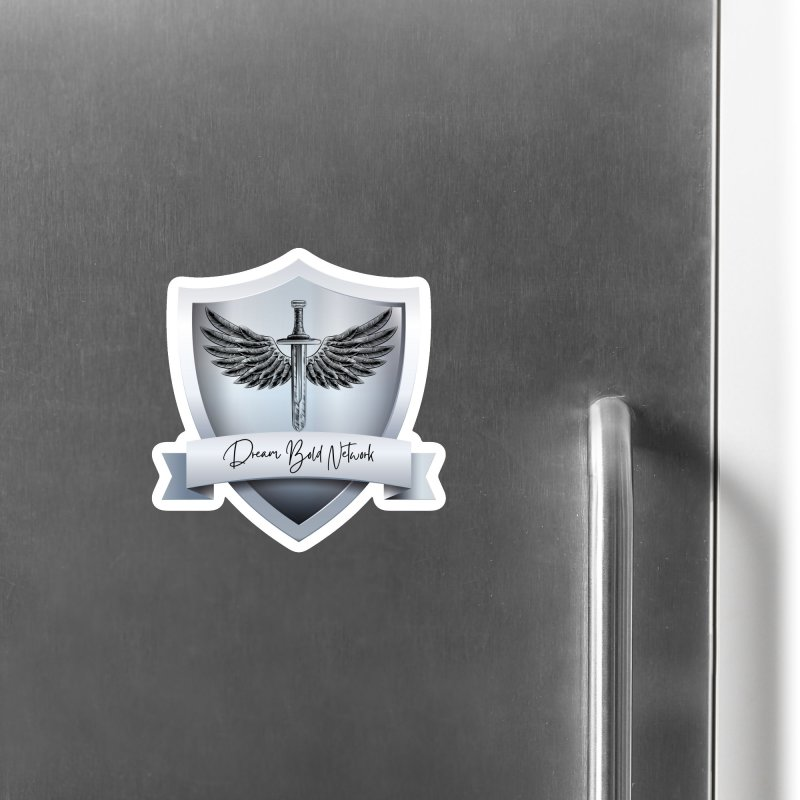 Dream Bold Shield Accessories Magnet by Dream BOLD Network Shop