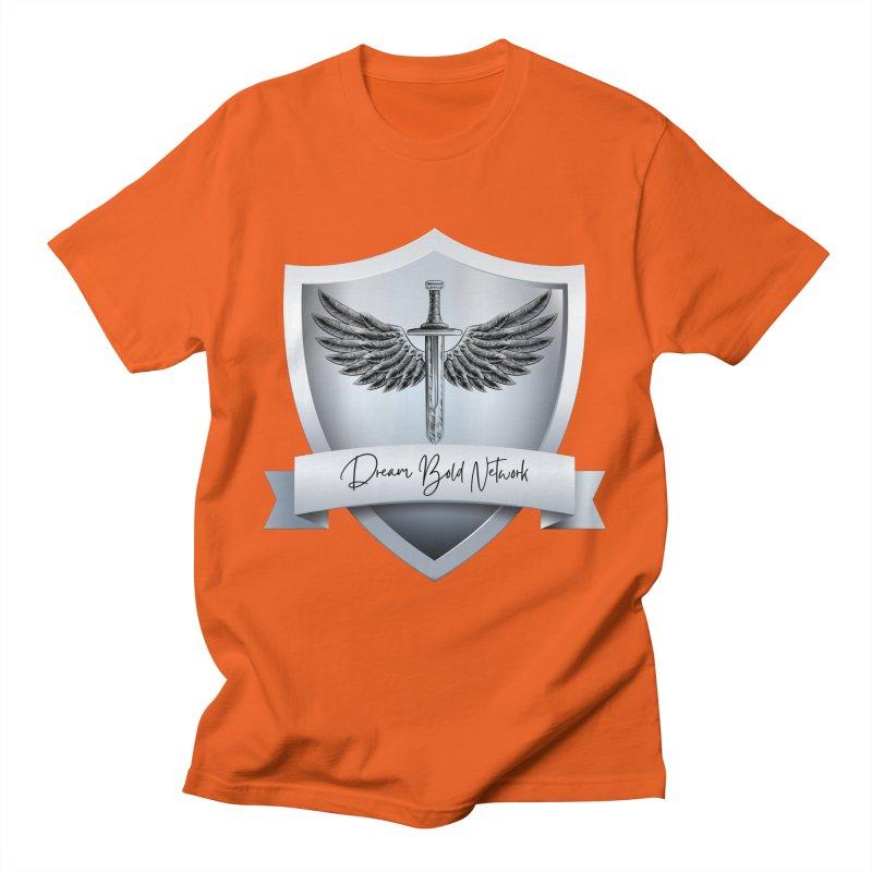 Dream Bold Shield Men's T-Shirt by Dream BOLD Network Shop