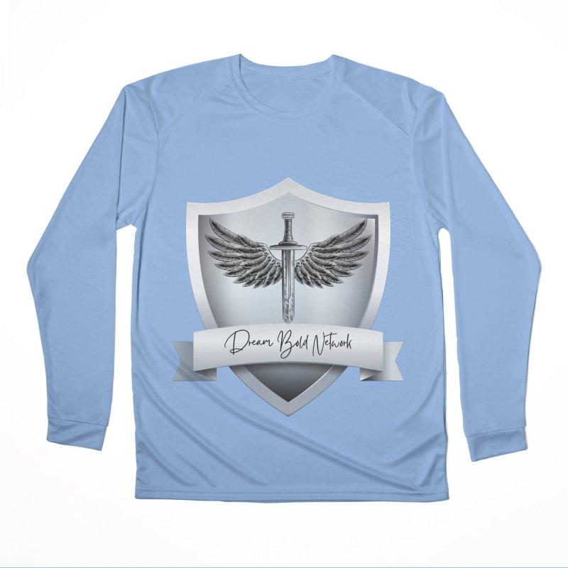 Dream Bold Shield Women's Longsleeve T-Shirt by Dream BOLD Network Shop