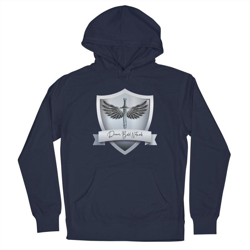 Dream Bold Shield Men's Pullover Hoody by Dream BOLD Network Shop