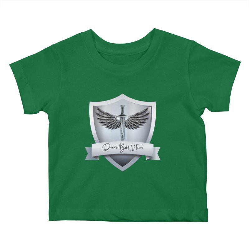 Dream Bold Shield Kids Baby T-Shirt by Dream BOLD Network Shop