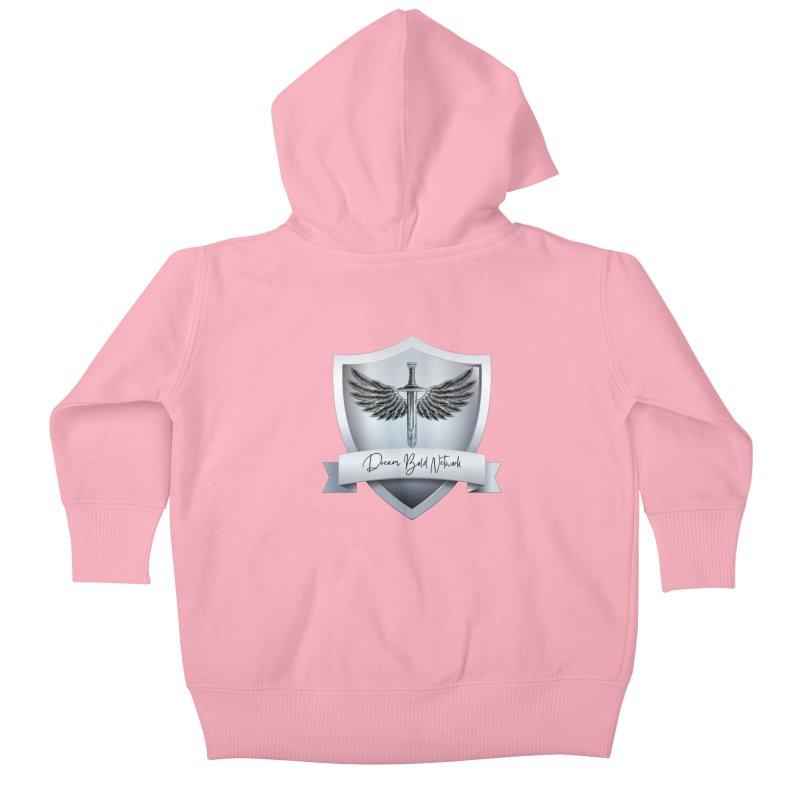 Dream Bold Shield Kids Baby Zip-Up Hoody by Dream BOLD Network Shop