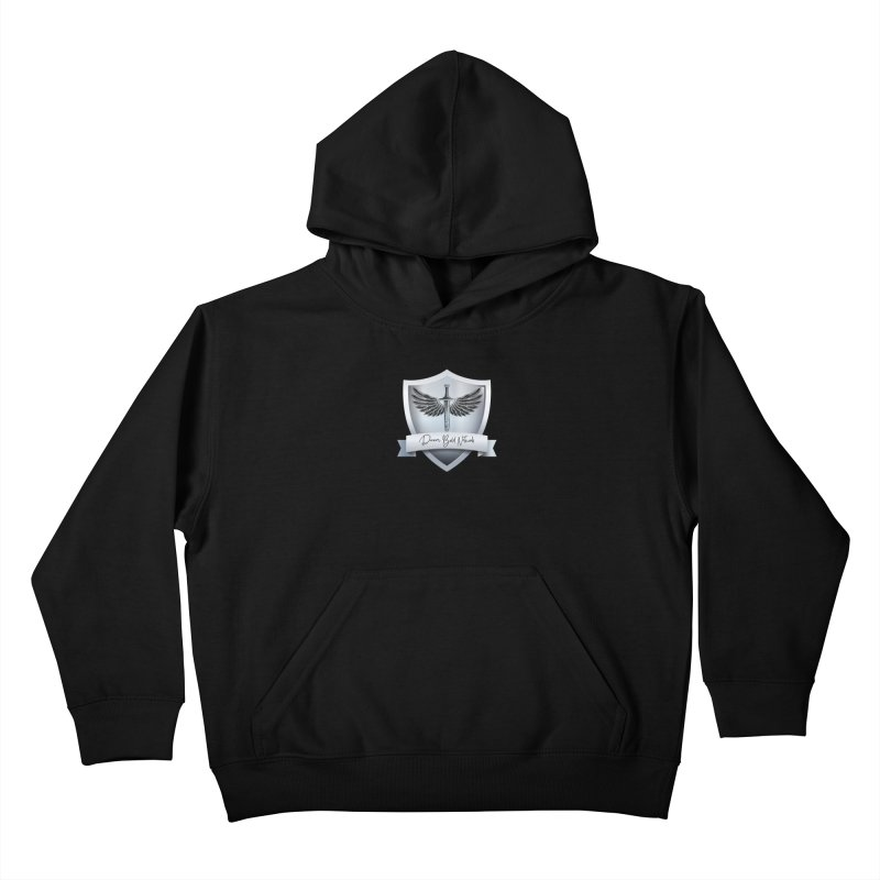 Dream Bold Shield Kids Pullover Hoody by Dream BOLD Network Shop