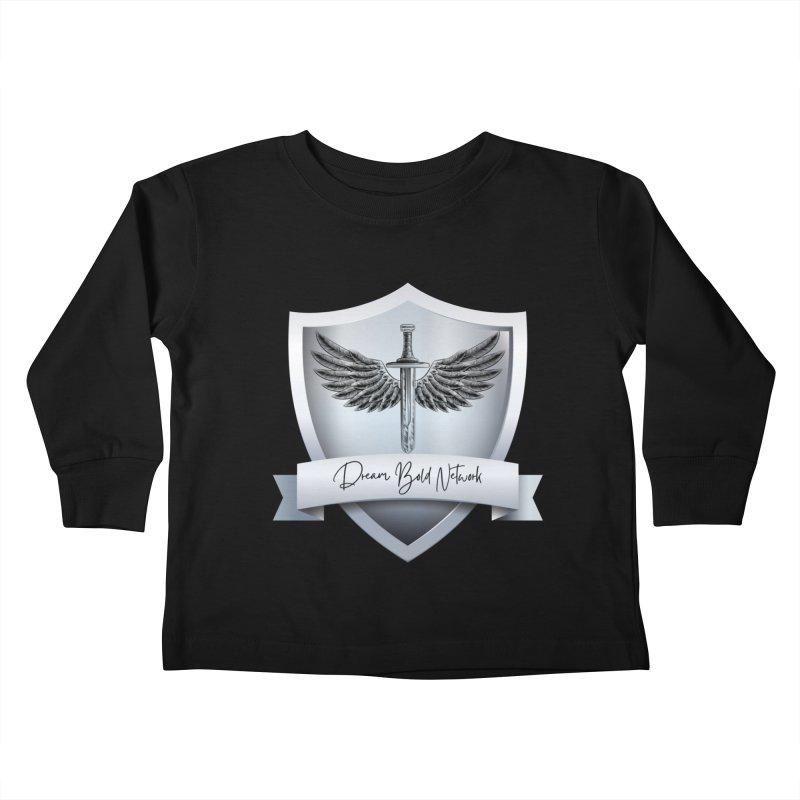 Dream Bold Shield Kids Toddler Longsleeve T-Shirt by Dream BOLD Network Shop