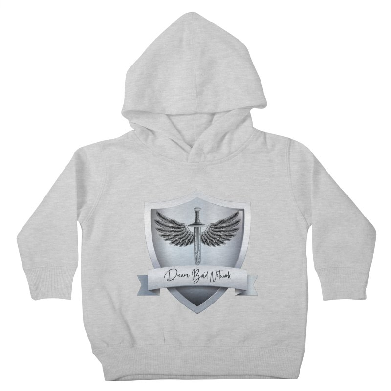 Dream Bold Shield Kids Toddler Pullover Hoody by Dream BOLD Network Shop