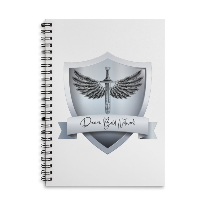 Dream Bold Shield Accessories Notebook by Dream BOLD Network Shop