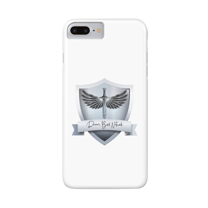 Dream Bold Shield Accessories Phone Case by Dream BOLD Network Shop
