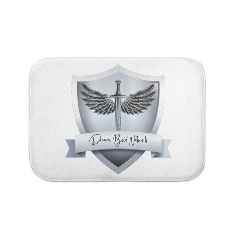 Dream Bold Shield Home Bath Mat by Dream BOLD Network Shop
