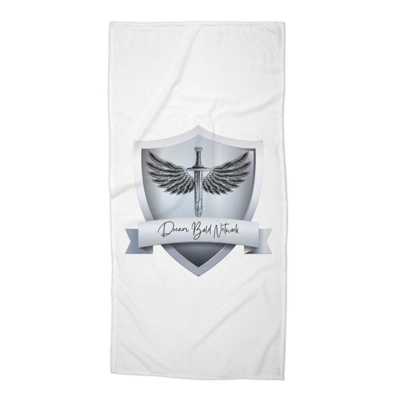 Dream Bold Shield Accessories Beach Towel by Dream BOLD Network Shop