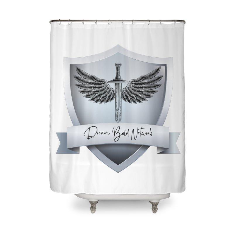 Dream Bold Shield Home Shower Curtain by Dream BOLD Network Shop