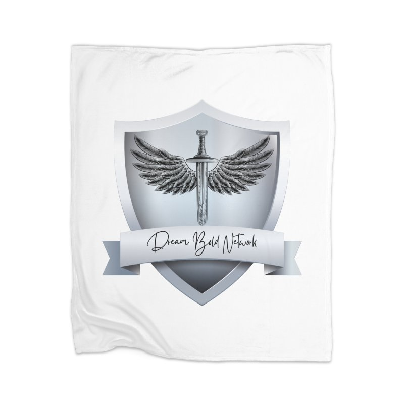 Dream Bold Shield Home Blanket by Dream BOLD Network Shop
