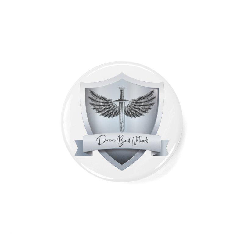 Dream Bold Shield Accessories Button by Dream BOLD Network Shop