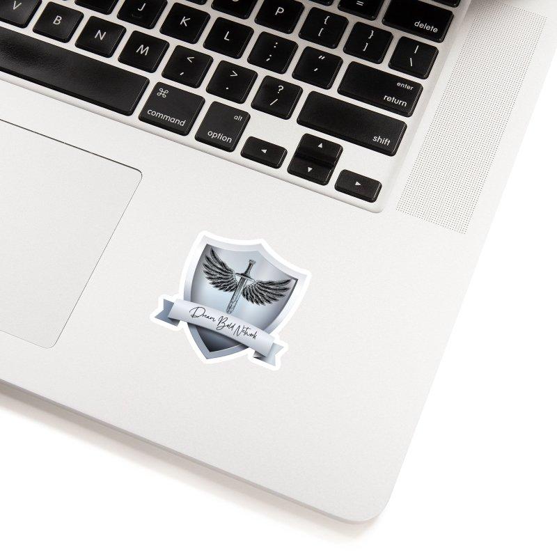 Dream Bold Shield Accessories Sticker by Dream BOLD Network Shop
