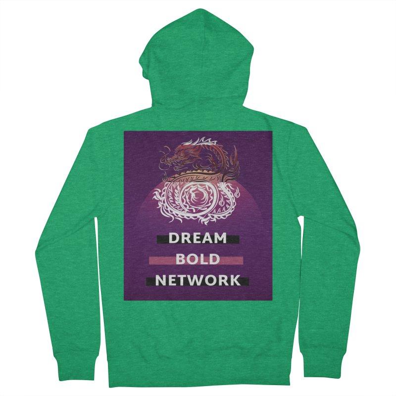 Dream Bold Dragon Women's Zip-Up Hoody by Dream BOLD Network Shop
