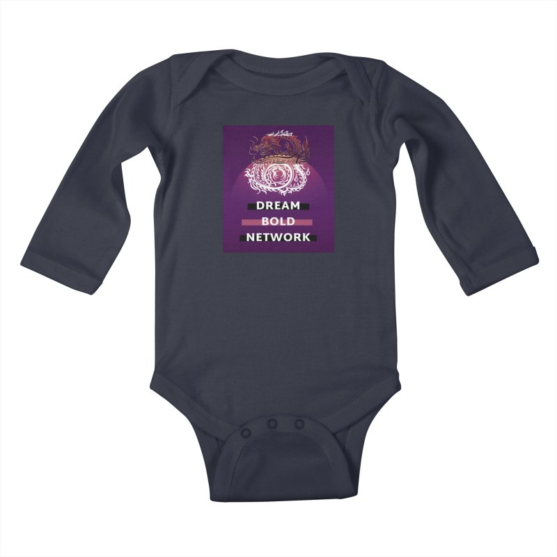 Dream Bold Dragon Kids Baby Longsleeve Bodysuit by Dream BOLD Network Shop