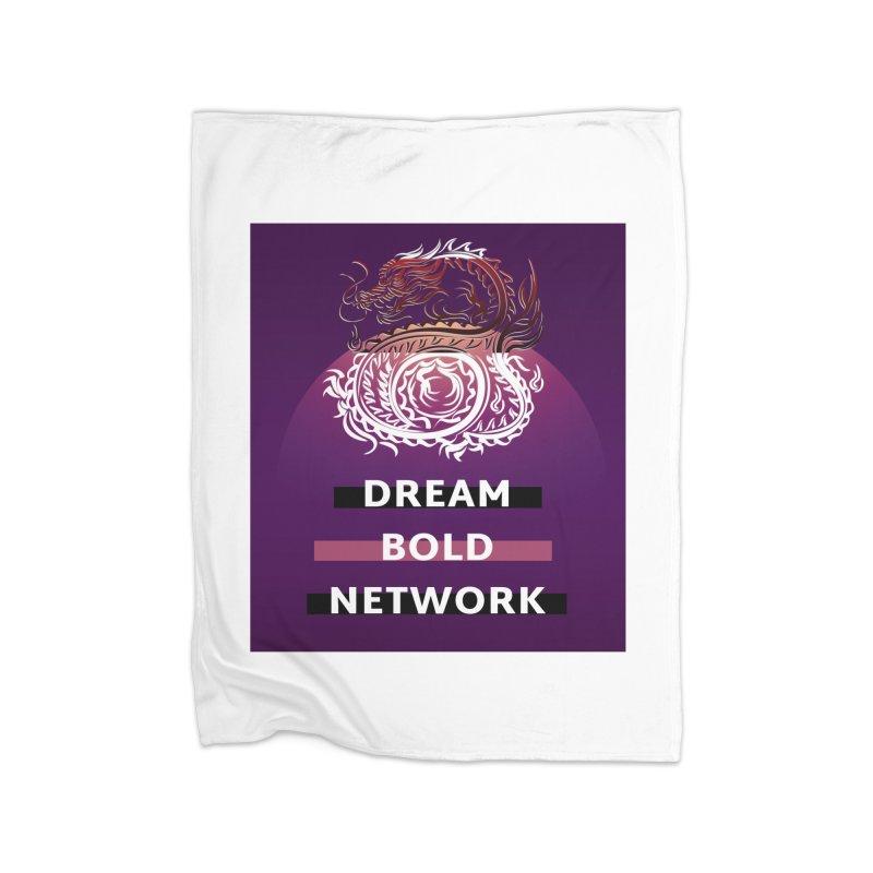 Dream Bold Dragon Home Blanket by Dream BOLD Network Shop