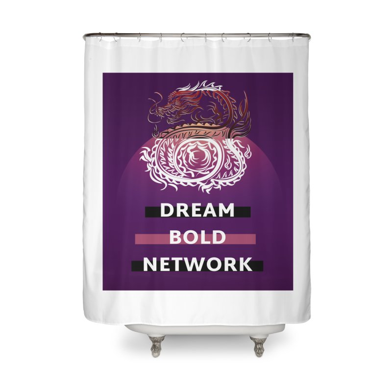 Dream Bold Dragon Home Shower Curtain by Dream BOLD Network Shop