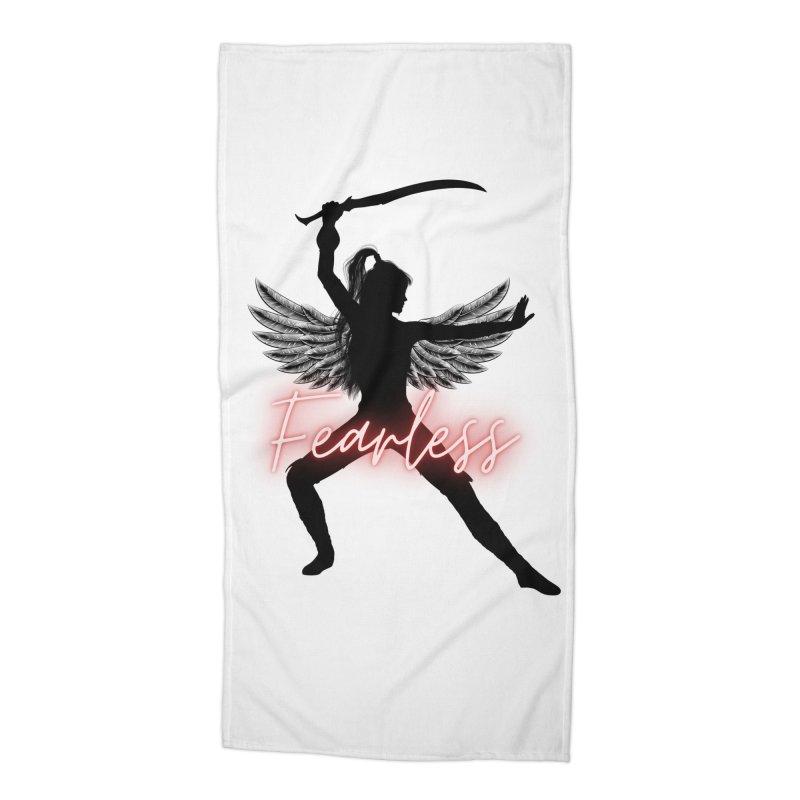 Fearless Female Accessories Beach Towel by Dream BOLD Network Shop