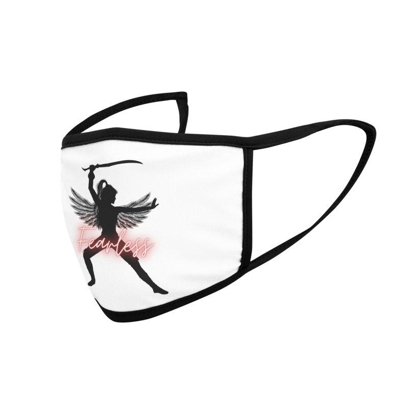 Fearless Female Accessories Face Mask by Dream BOLD Network Shop