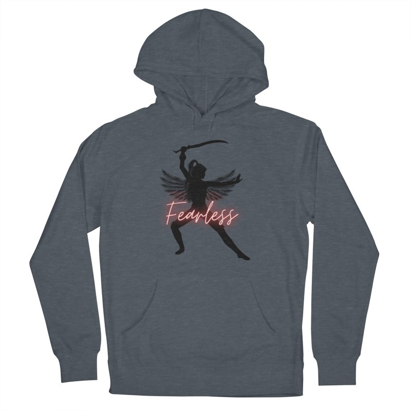 Fearless Female Men's Pullover Hoody by Dream BOLD Network Shop