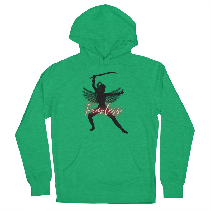 Fearless Female Women's Pullover Hoody by Dream BOLD Network Shop