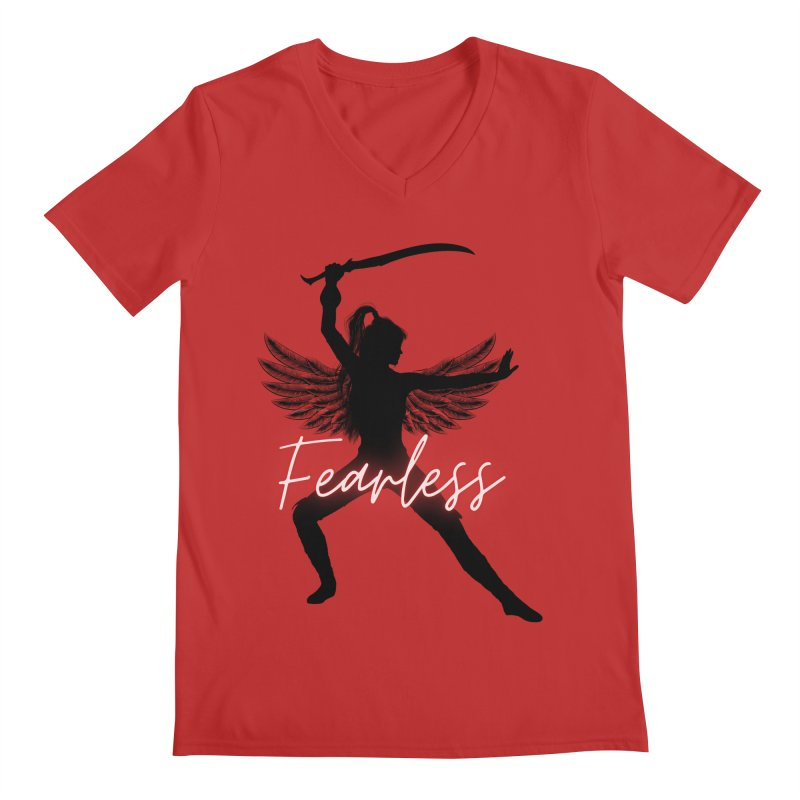 Fearless Female Men's V-Neck by Dream BOLD Network Shop