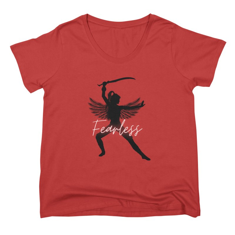 Fearless Female Women's Scoop Neck by Dream BOLD Network Shop