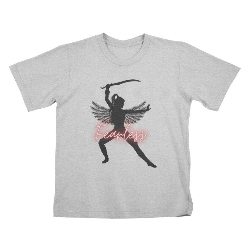 Fearless Female Kids T-Shirt by Dream BOLD Network Shop