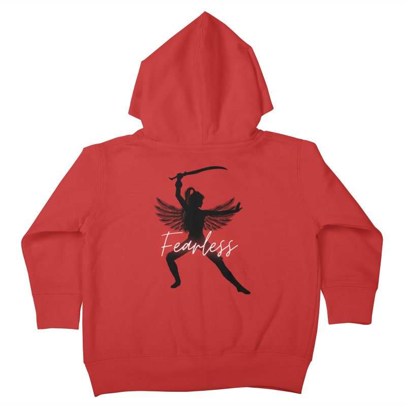 Fearless Female Kids Toddler Zip-Up Hoody by Dream BOLD Network Shop
