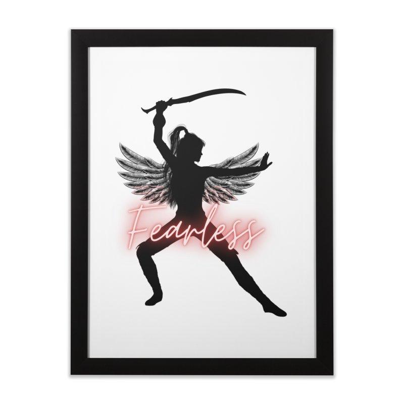 Fearless Female Home Framed Fine Art Print by Dream BOLD Network Shop