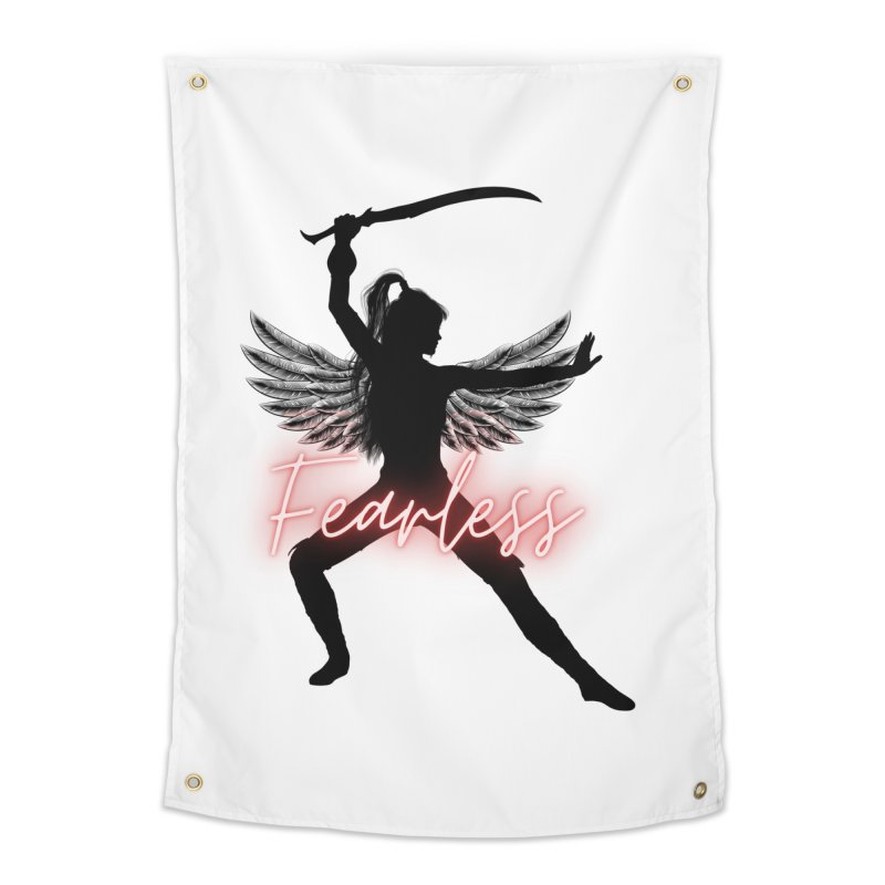 Fearless Female Home Tapestry by Dream BOLD Network Shop