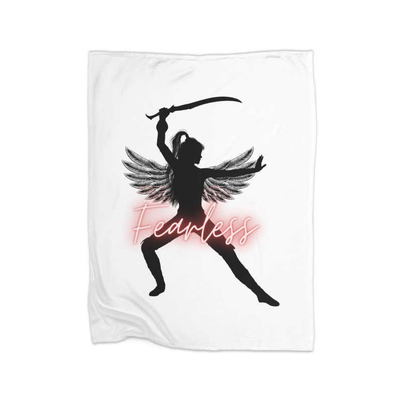 Fearless Female Home Blanket by Dream BOLD Network Shop