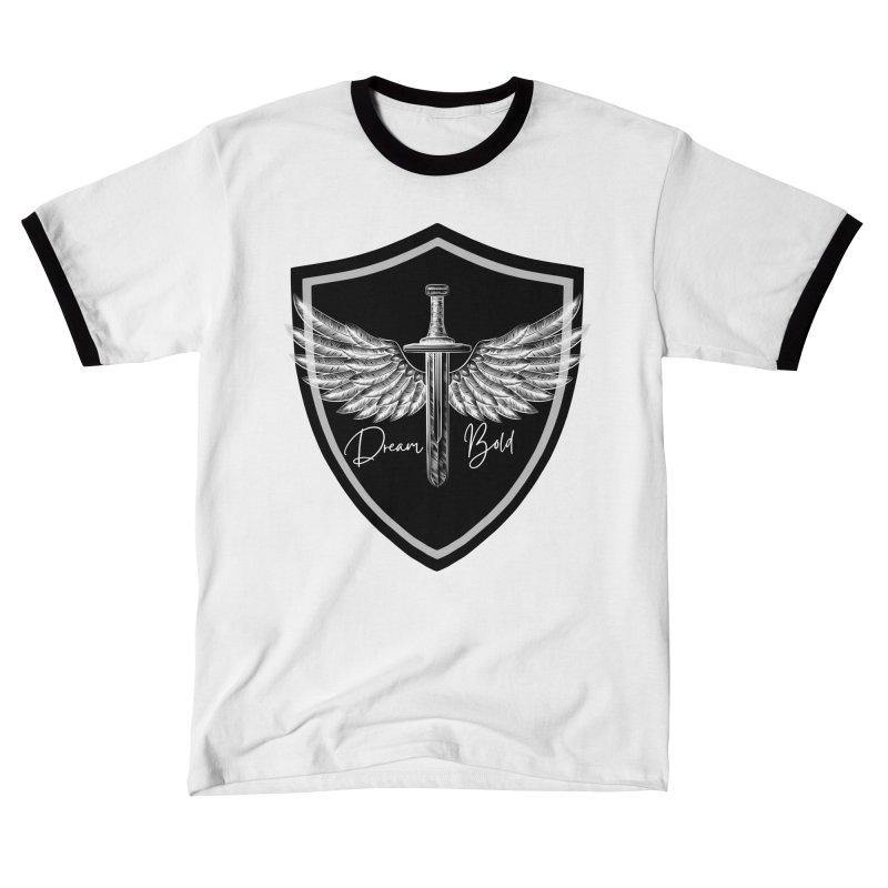 Bold Shield Men's T-Shirt by Dream BOLD Network Shop