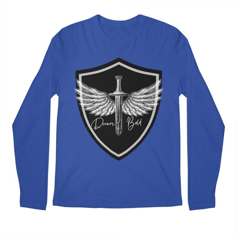 Bold Shield Men's Longsleeve T-Shirt by Dream BOLD Network Shop