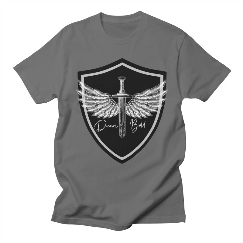 Bold Shield Men's T-Shirt by Dream BOLD Network Shop
