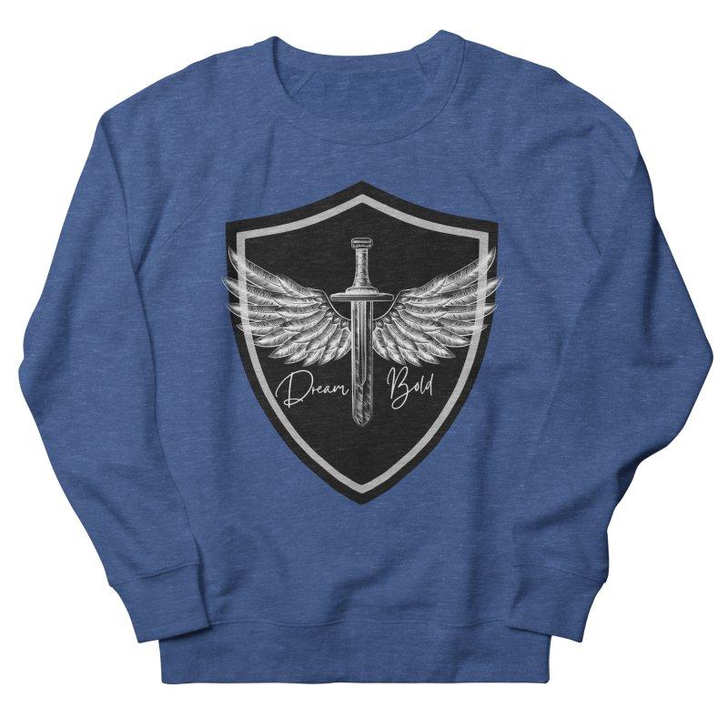 Bold Shield Men's Sweatshirt by Dream BOLD Network Shop