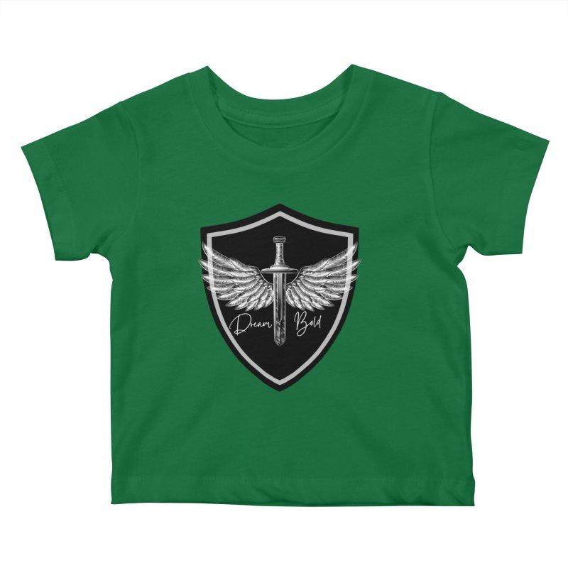 Bold Shield Kids Baby T-Shirt by Dream BOLD Network Shop
