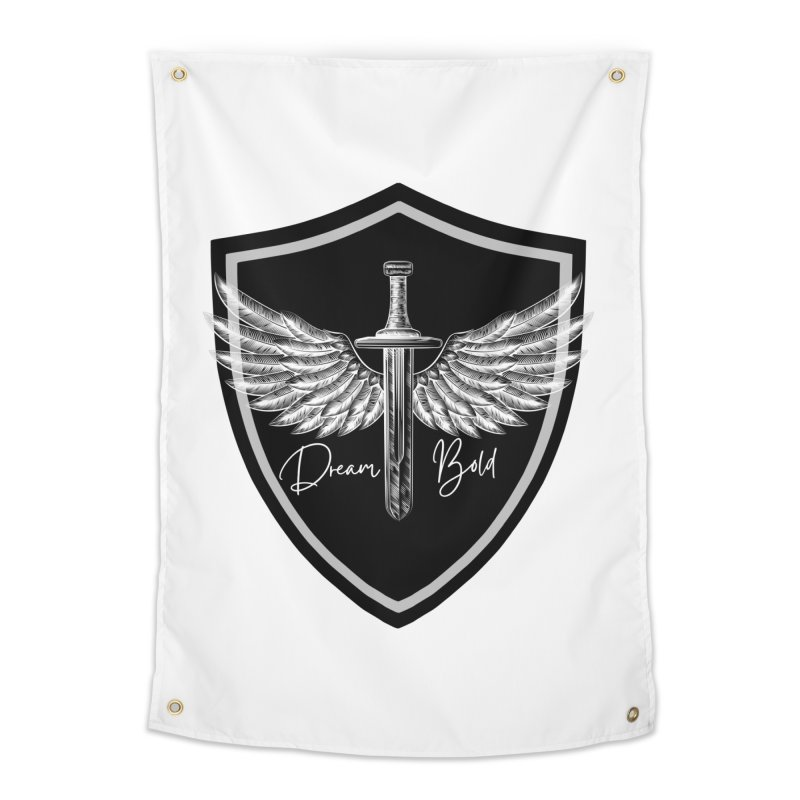 Bold Shield Home Tapestry by Dream BOLD Network Shop